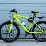 Велосипед не складной 10 лепестков салатовый