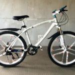 Велосипед не складной 10 лепестков белый