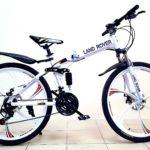 Велосипед складной 6 лепестков белый