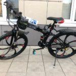 Велосипед складной 6 лепестков черный