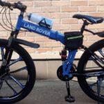 Велосипед складной 10 лепестков синий
